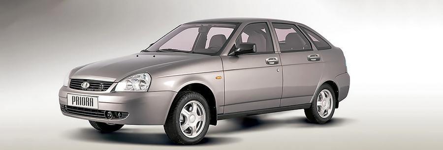 Lada Priora hatchback 2013.