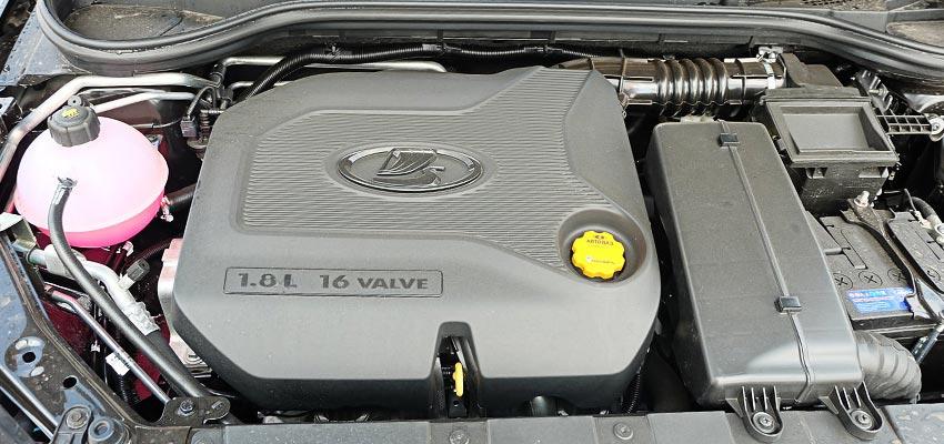 Мотор ВАЗ 21179 под капотом Веста.