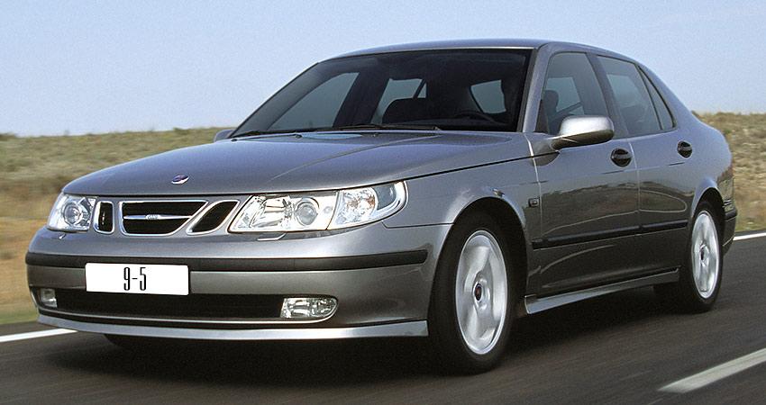 Saab 9-5 2004 года с бензиновым двигателем 2.3 литра