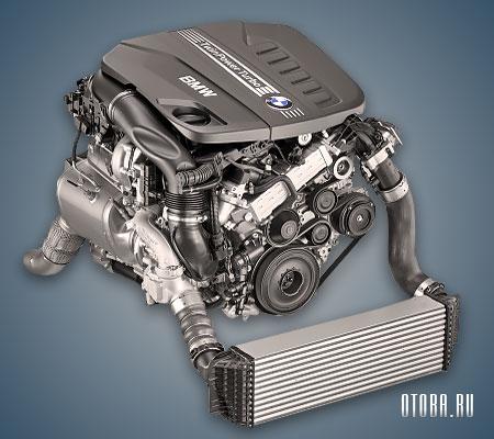 Двигатель N57 фото.