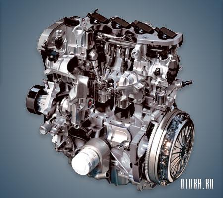 Мотор Ford M8DA вид сзади.