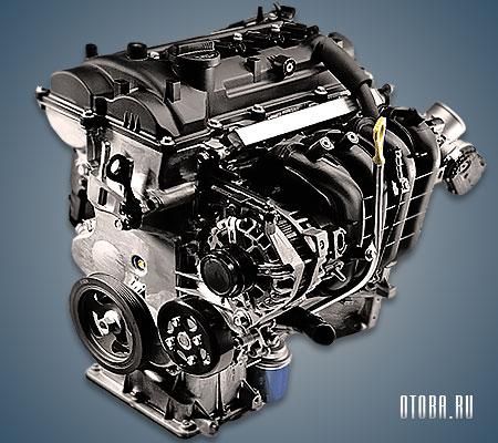 Мотор Хендай G4FG фото.