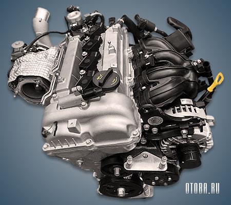 Мотор Хендай G4FJ фото.