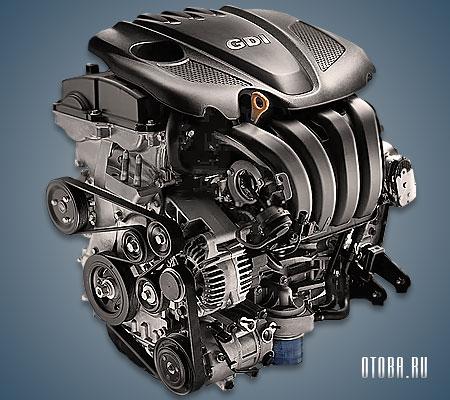 Мотор Хендай G4KJ фото.