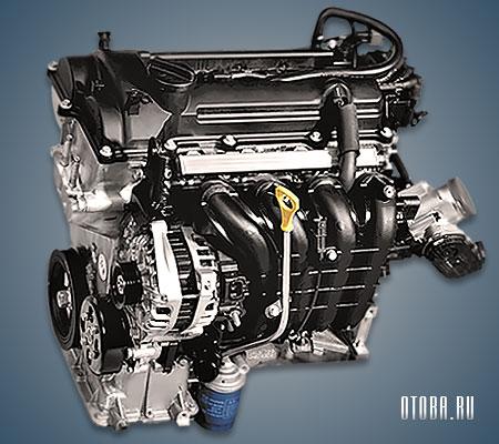 Мотор Хендай G4LC фото.
