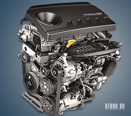 Мотор Хендай G4LD фото.
