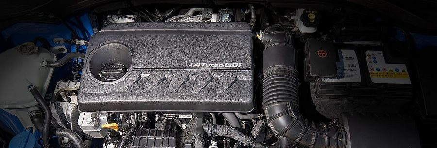 Силовой агрегат G4LD под капотом Хендай i30.