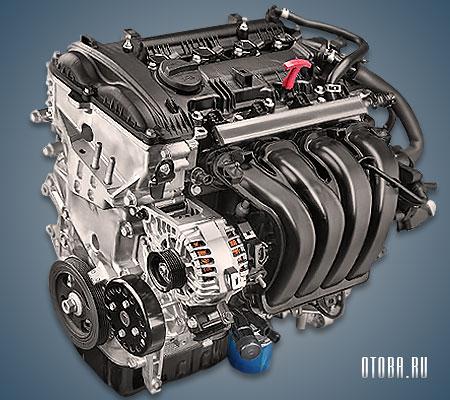 Мотор Хендай G4NA фото.