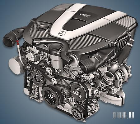 Двигатель Мерседес М275 фото.