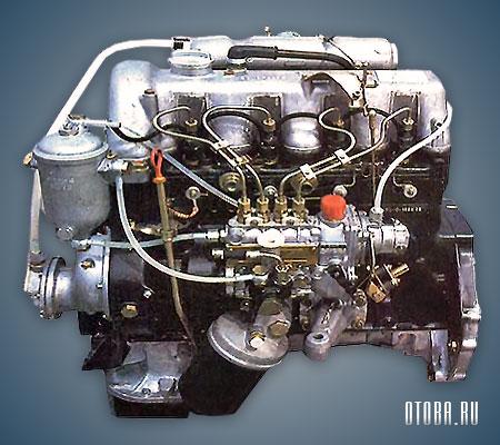 Двигатель OM616 фото.