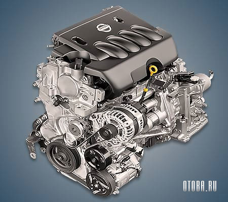 Двигатель Ниссан MR20DE фото.
