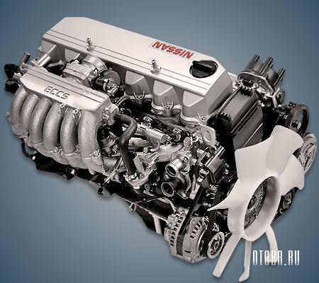 Двигатель RB20E фото.