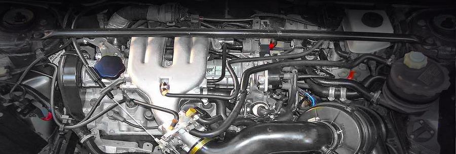 Силовой агрегат f3n под капотом Рено 21.