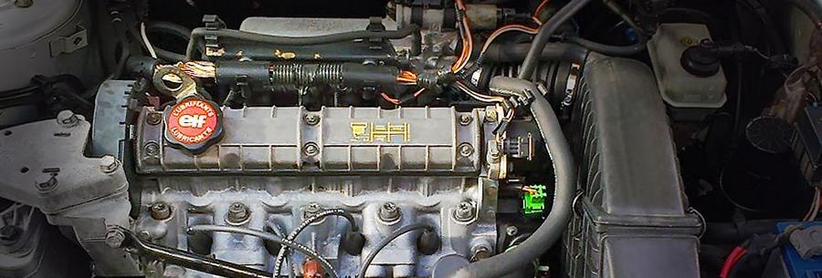 Двигатель f3p под капотом Рено Лагуна.