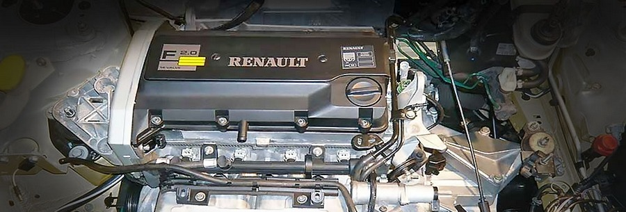 Силовой агрегат f7r под капотом Рено Меган.