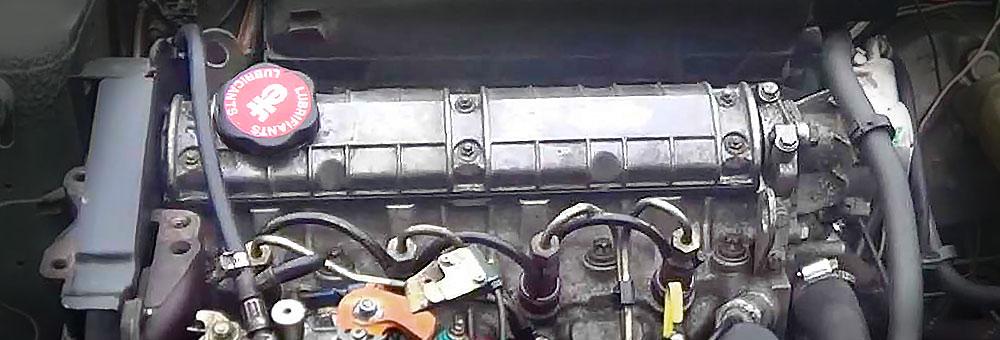 Силовой агрегат f8m под капотом Рено 11.