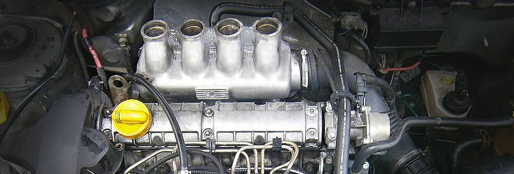 Силовой агрегат f8q под капотом Рено Меган.