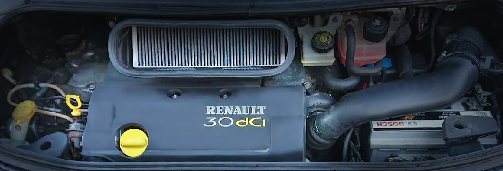 Силовой агрегат p9x под капотом Рено Эспэйс.