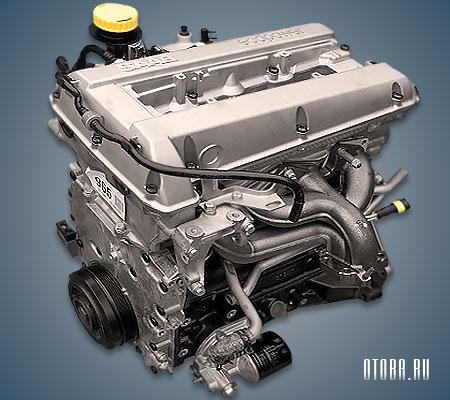 2.3-литровый бензиновый мотор Сааб B235E фото