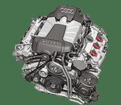 Иконка двс Audi EA837 бензин