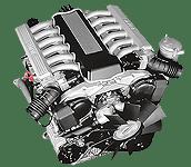 Иконка двигателя BMW V12 бензин