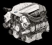 Иконка двигателя BMW V8 бензин