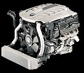 Иконка двигателя BMW V8 дизель