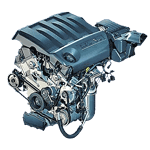 Иконка двигателя Hyundai серии Mu