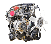 Иконка двс Isuzu J-engine дизель