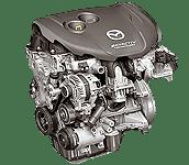 Иконка двс Mazda Skyactiv-D дизель
