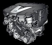 Иконка двигателя Mercedes V6 дизель