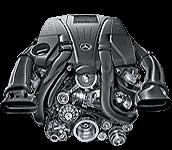 Иконка двигателя Mercedes V8 бензин