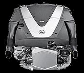 Иконка двигателя Mercedes V8 дизель