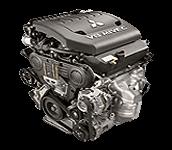 Иконка двигателя Mitsubishi бензин 6B3