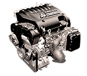 Иконка двигателя Mitsubishi бензин 6G7