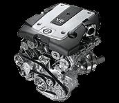 Иконка двигателя Nissan серии VQ