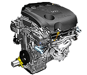 Иконка двигателя Nissan vq35de