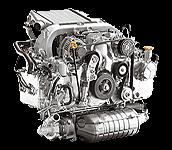 Иконка двигателя Subaru EE серии дизель