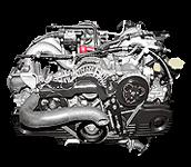 Иконка двигателя Subaru EJ серии бензин