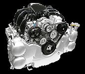 Иконка двигателя Subaru EZ серии бензин
