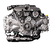 Иконка двигателя Subaru FB серии бензин