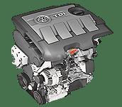 Иконка двс Volkswagen EA189 дизель