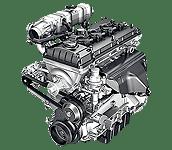 Иконка бензинового двигателя ЗМЗ 409