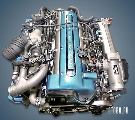 Мотор Тойота 2JZ-GTE фото.