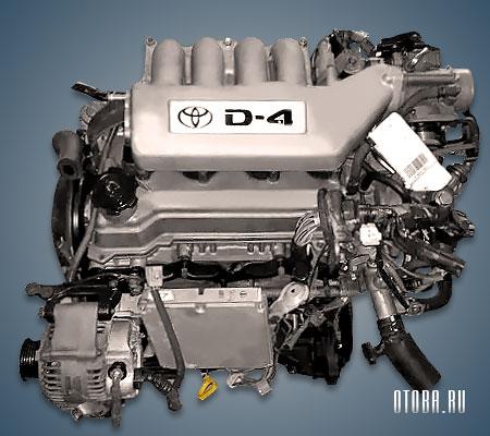Двигатель 3S-FSE фото.