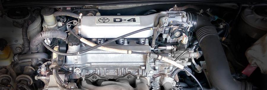 Силовой агрегат 3S-FSE под капотом Тойота Виста.