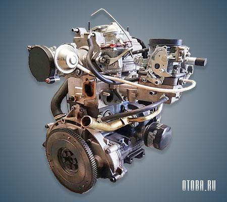 Мотор ВАЗ 1111 фото.