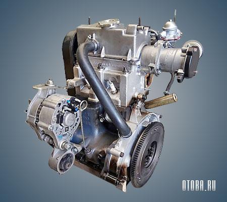 Двигатель 1111 вид сзади.