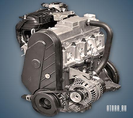 Двигатель ВАЗ 11183 фото.