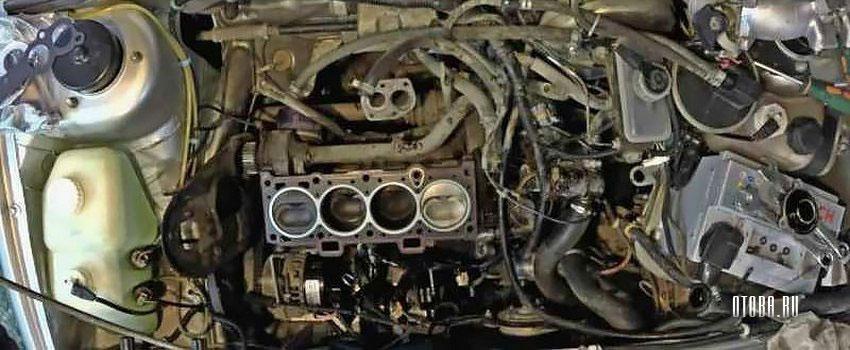 Замена прокладки ГБЦ на ВАЗ 2190 с мотором 11183.